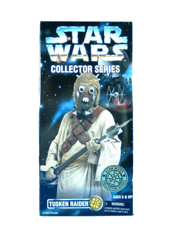 "1997 Star Wars POTF2 12"" TUSKEN RAIDER Sealed"